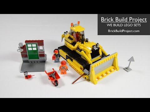 """Конструктор Lego City 60074 """"Бульдозер"""""""