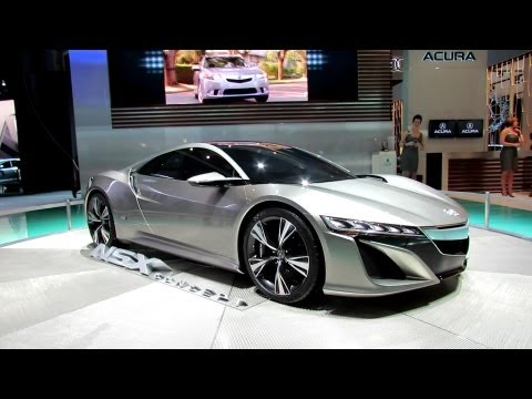 Acura NSX Concept at 2012 New York International Auto Show NYIAS