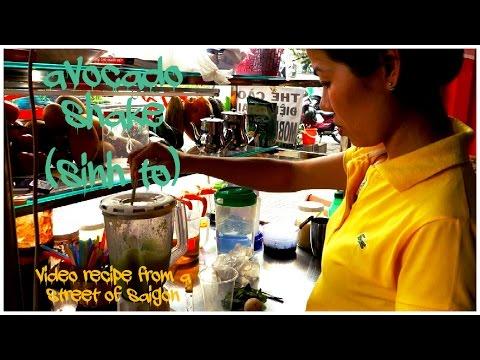 Sinh to - Vietnamese fruit shake