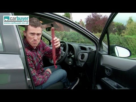 Toyota Yaris hatchback review – CarBuyer