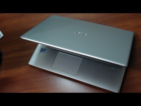 Acer Touch V5-471P Unboxing