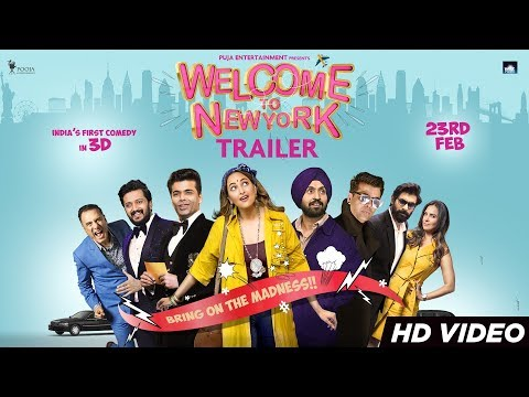 Welcome To New York Trailer | Sonakshi Sinha | Diljit Dosanjh | Karan Johar |