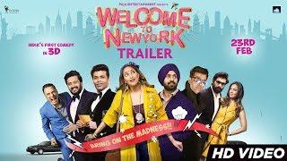 Download Video Welcome To New York Trailer | Sonakshi Sinha | Diljit Dosanjh | Karan Johar | 23rd Feb MP3 3GP MP4