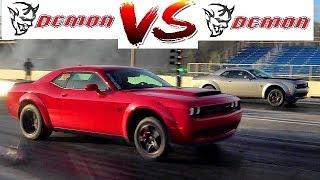 DEMON vs DEMON Drag Race !! - Finals - 1st Demon Invitational - Mass Traction - Road Test® by Road Test TV
