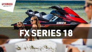 6. Yamaha 2018 FX Series Waverunners