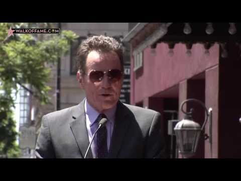 Bryan Cranston Walk of Fame Ceremony