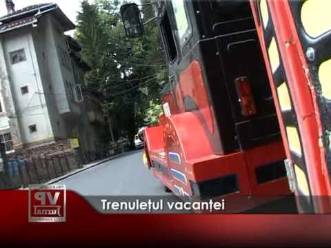 Trenuleţul vacanţei