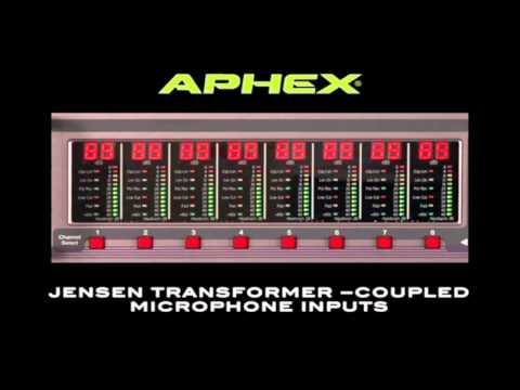 Aphex 1788A Mic Pre Training Video