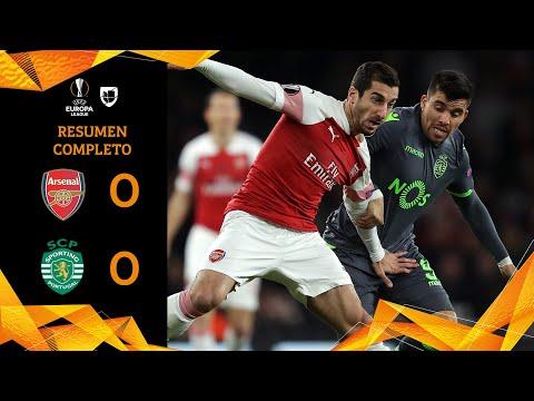 Arsenal 0-0 Sporting - RESUMEN - Grupo E - UEFA Europa League