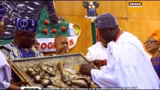 Ooni Ileefe Oba Adeyeye Enitan Ogunwusi pe fun igbelaruge ede Yoruba ni gbogbo aye. O sowipe Abewo Oun je Ipe fun ife laarin gbogbo omo Yoruba kaakiri ...