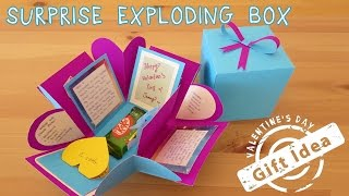 $2 Gift Idea | Surprise Exploding Box | Sunny DIY
