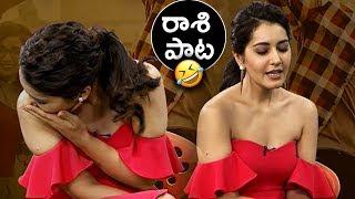 Video Actress Raashi Khanna Sings Ninnila Song From Tholi Prema   Super Fun   TFPC MP3, 3GP, MP4, WEBM, AVI, FLV Maret 2018