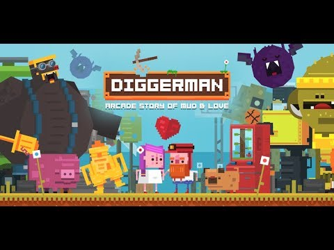 'Diggerman', a Frantic Arcade Digging Romp From the Makers of 'Timberman', Has a New Gameplay Trailer