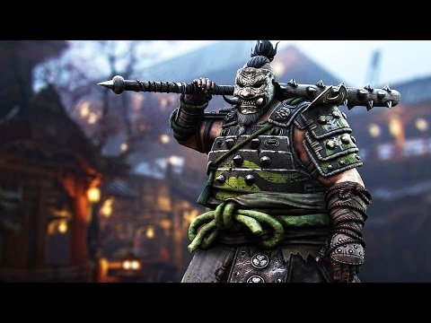 For Honor: 4 Minutes of Shugoki Gameplay at 1080p 60fps