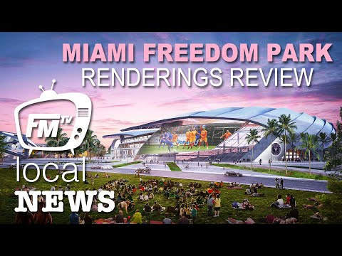 Miami Freedom Park Rendering Review | Local News | 4/15/19