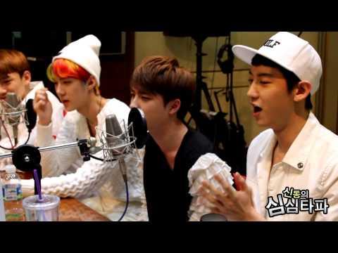 신동의 심심타파 - EXO D.O. - Cry, 엑소 디오 - 크라이 한소절 라이브 20130607 (видео)