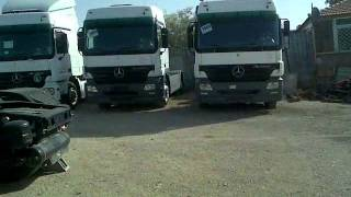 معرض السيلاوي -المنطقة الحرة-شاحنات مرسيدس