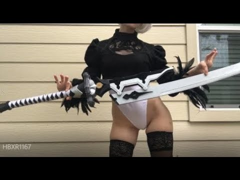 【Nier: Automata】 Virtuous Treaty Sword Unboxing and Review