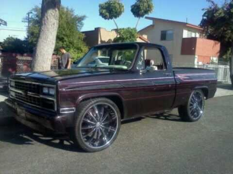 Custom Chevy C10 On 26s