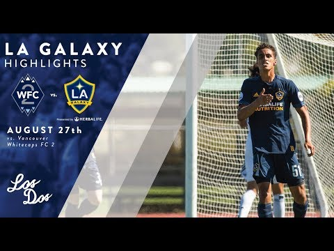 Video: HIGHLIGHTS: LA Galaxy II vs. Vancouver Whitecaps 2 | August 27, 2017