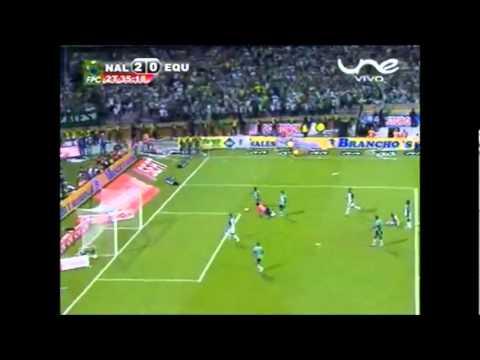 Gol de Carlos Renteria a Equidad