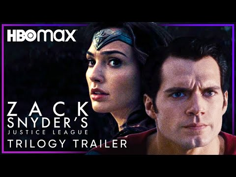 Zack Snyder's Justice League   Trilogy Trailer   HBO Max