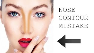 THE BIGGEST NOSE CONTOURING MISTAKE - EVER! by Wayne Goss