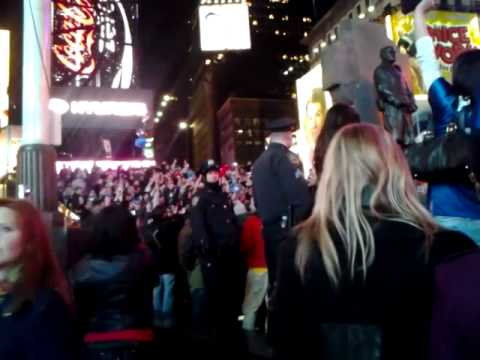 Giants Superbowl Win 2012 – Times Square – NYC
