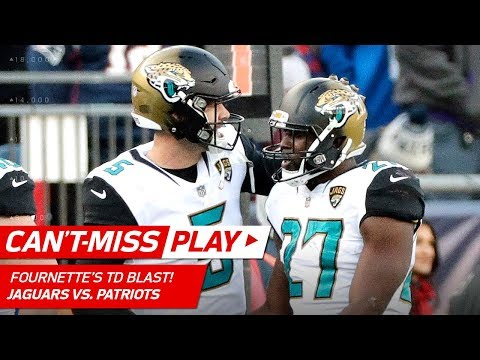 Video: Fournette Powers Through Pats for TD to Extend Lead! | Can't-Miss Play | AFC Championship HLs
