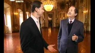 José Rodrigues dos Santos conversa com SAR o Duque de Bragança