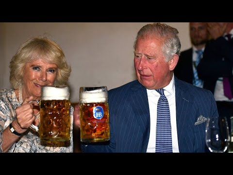 Prinz Charles und Herzogin Camilla zu Tanz und Trunk  ...