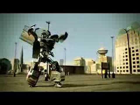 Citroen C4 - Dancing Robot