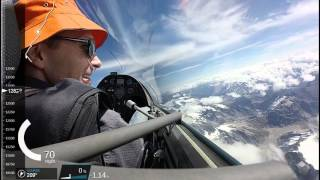 Omarama New Zealand  city pictures gallery : Omarama soaring flight to Mt Cook, New Zealand