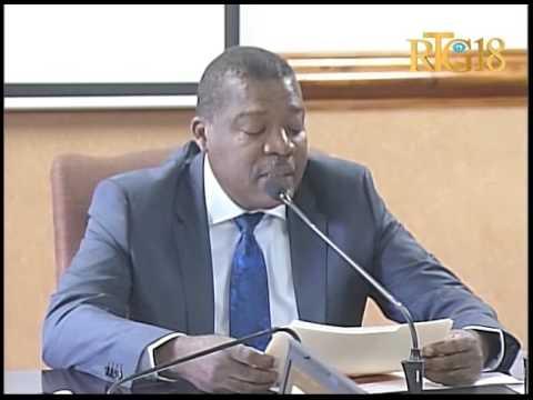 Ministère de l'Économie et des Finances / Rapport de financement des élections