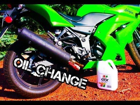 How to Change Oil And Filter Kawasaki Ninja 250
