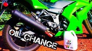 7. How to Change Oil And Filter Kawasaki Ninja 250