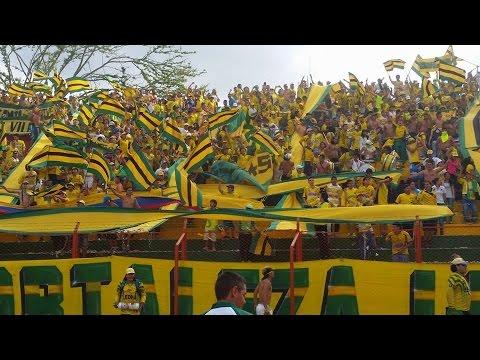 La fiesta de la clasificacion, Bucaramanga Vs Cartagena, 26-oct-2014, FORTALEZA LEOPARDA SUR 2014 - Fortaleza Leoparda Sur - Atlético Bucaramanga