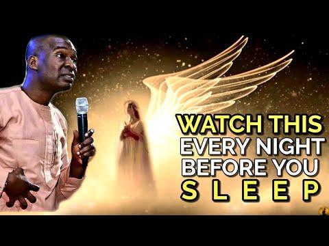 WATCH THIS EVERY NIGHT BEFORE YOU SLEEP | APOSTLE JOSHUA SELMAN 2020