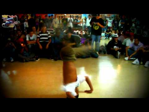 Knock Out 2011. B.boy Litos vs B.boy Santiago. Segunda Ronda. Urban Flow.