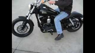 4. 2013 HARLEY FXDB DYNA STREET BOB $7000 FOR SALE WWW.RACERSEDGE411.COM