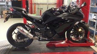 6. Kawasaki Ninja 300 - DYNO Run