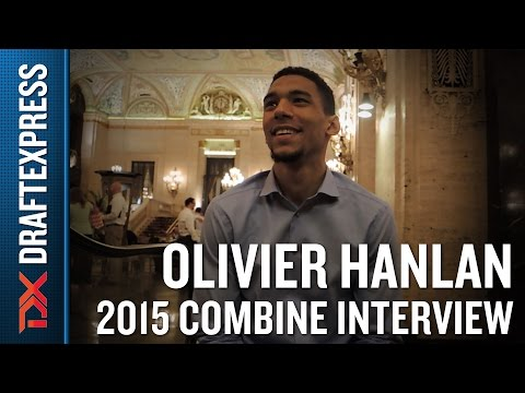 Olivier Hanlan 2015 NBA Draft Combine Interview
