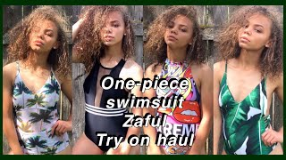 Video One-piece Try On Swimsuit Haul & Zaful Review | Viah Lee MP3, 3GP, MP4, WEBM, AVI, FLV September 2018