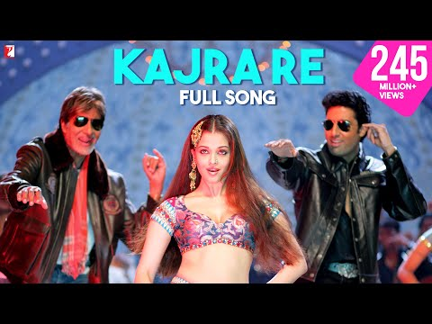Download Kajra Re - Full Song | Bunty Aur Babli | Amitabh Bachchan | Abhishek Bachchan | Aishwarya Rai