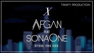 Afgan feat. SonaOne - X   Official Lyric Video
