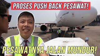 Video Dorong Mundur Pesawat - by Captain Vincent Raditya ( BATIK AIR PILOT ) MP3, 3GP, MP4, WEBM, AVI, FLV Oktober 2018