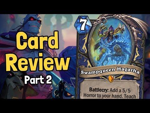 Hagatha Returns! - Rise of Shadows Review Part 2 - Hearthstone