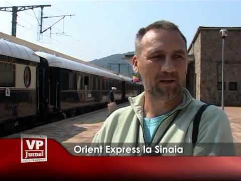 Orient Expres la Sinaia