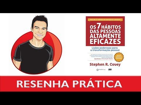 Como ser altamente produtivo e eficaz | 7 Hábitos Das Pessoas Altamente Eficazes ? Stephen Covey