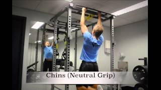 Exercise Index: Chins (Neutral Grip)